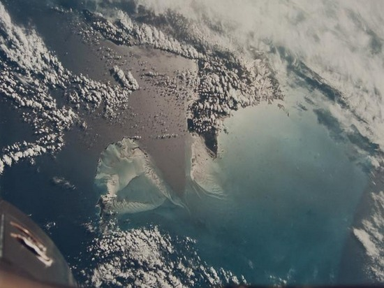 Gemini 7: the Bahamas – Andros, New Providence and the Berry Islands.