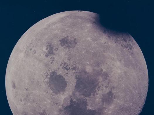 Apollo 13: the full Moon.